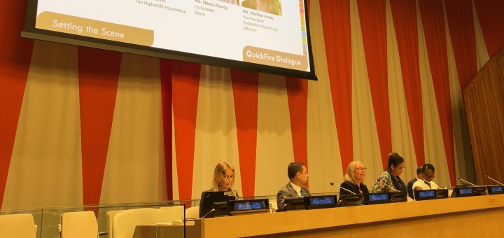 Insights from HLPF 2019: Philanthropy & the SDGs